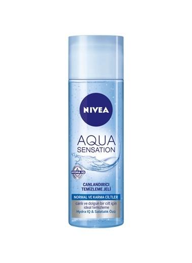 Nivea Nivea Aqua Sensation Normal/Karma Canlandırıcı Temizleme Jeli 20 Renksiz